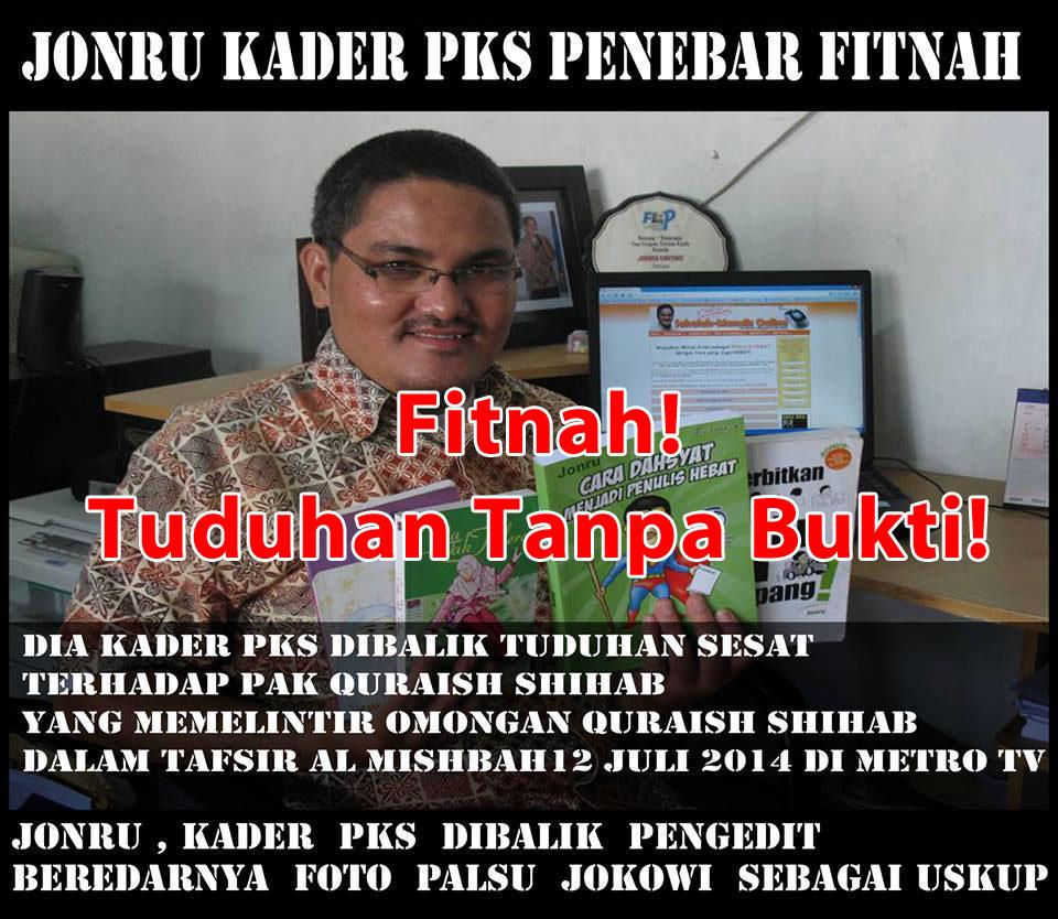Pemilik Web IslamToleran Dan FP Quraish Shihab Palsu Terbukti