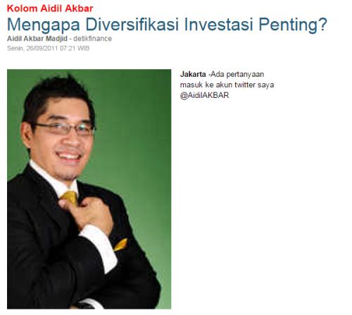 Mengapa Diversifikasi Investasi Penting
