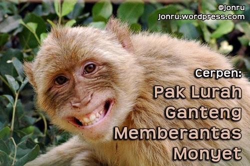 monyet pembawa sial